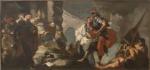 Giugurta davanti al console romano