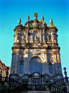 Oporto: la chiesa di Todos os Clerigos, facciata