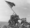 Iwo Jima bandiera americana sul Suribachi