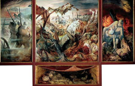 Otto dix . Il trittico della Guerra