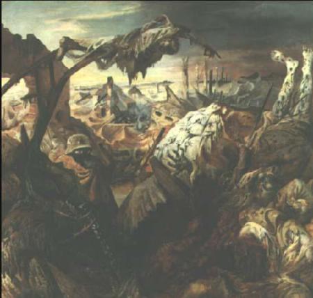 Otto Dix, Guerra di trincea, 1932