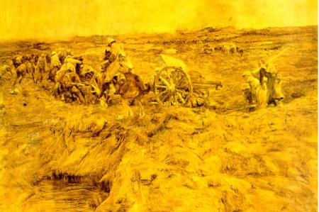 Am Kemmel Schlacht in Flandren(15-29 aprile 1918)Wilhelm von Schreuer