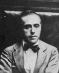Una fotografia del deputato socialista Giacomo Matteotti ( 1885-1924). Da www.treccani.it