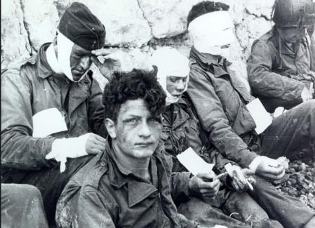 Omaha Beach feriti